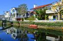 Venice Beach Canals in California