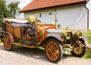 Historical Car Show in Brada, Czech Republic