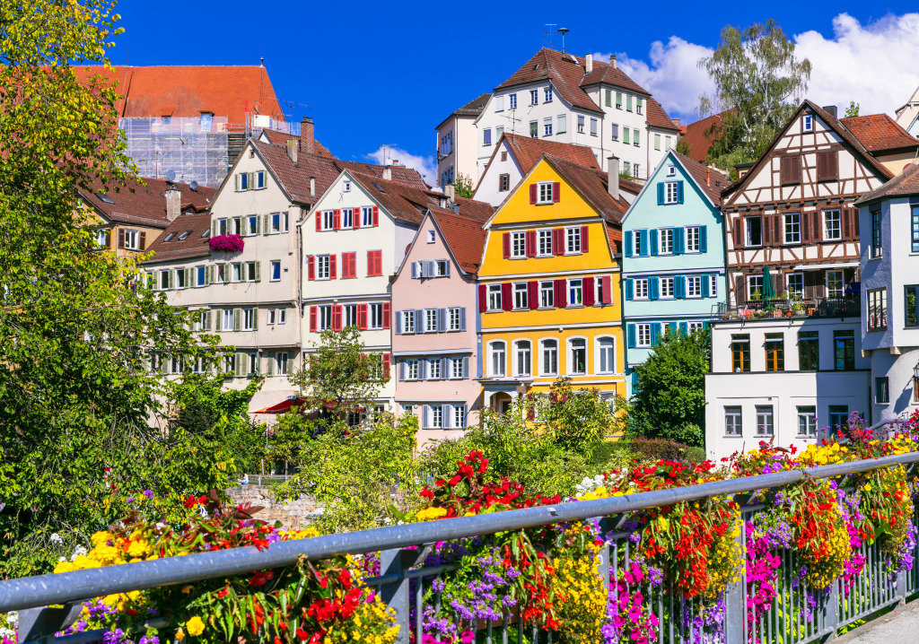 Tubingen, Germany jigsaw puzzle in Puzzle of the Day ...