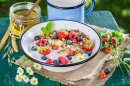 Healthy Muesli with Berries