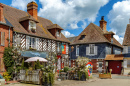Half-Timbered Houses, Beuvron-En-Auge, France