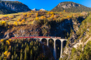 Rhaetian Railway, Canton of Grisons, Switzerland