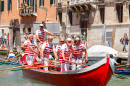 Vogalonga Regatta in Venice