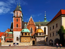 Castle in the Old City of Krakow