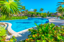 Tropical Caribbean Resort