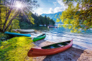 Bohinj Lake, Julian Alps, Slovenia