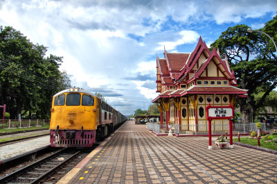 Hua Hin Train Station, Thailand