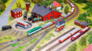Miniature Train Station