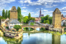 Ponts Couverts Bridge in Strasbourg