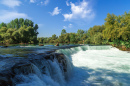 Manavgat Waterfall in Antalya, Turkey