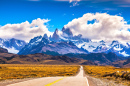 Road to Fitzroy Mountains, Patagonia