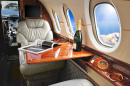 Business Jet Interior