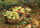 Fruit Basket in a Meadow