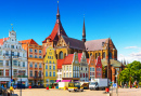 Old Town of Rostock, Germany