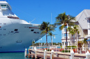Cruise Ship Docked in Key West