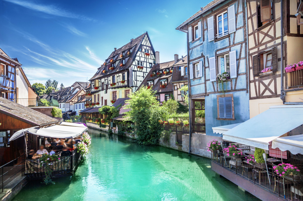 town of colmar france jigsaw puzzle in puzzle of the day puzzles on. Black Bedroom Furniture Sets. Home Design Ideas