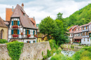 Wine Village of Kaysersberg, France