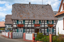 Half-Timbered Houses, Seebach, France