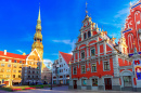 City Hall Square, Riga, Latvia