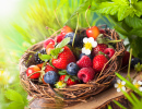 A Basket of Summer Berries