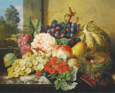 Still Life with Fruits and Bird's Nest
