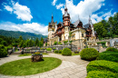 Peleș Castle and Garden, Romania