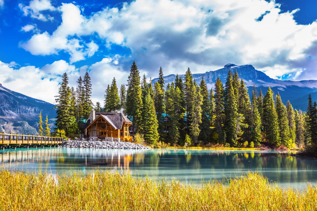 Yoho national park canada jigsaw puzzle in puzzle of the for Places to travel in canada