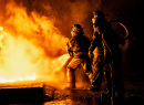 Firefighting Training Exercise