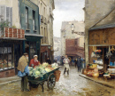 Market on the Rue Mouffetard, Paris