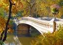 Bow Bridge in Central Park, New York City