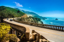 Bixby Creek Bridge, US West Coast