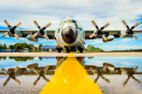 C-130 Military Transport Aircraft
