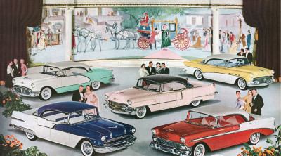 1956 - Body by Fisher on GM Cars jigsaw puzzle in Cars