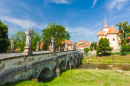 Baroque Bridge, Namest nad Oslavou, Czech Republic