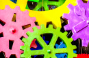 Colorful Cogwheels