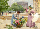Flower Seller on The Champs-Elysees