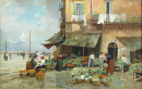 Market in Via Marina, Naples