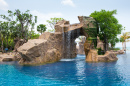 Tropical Resort Waterfall