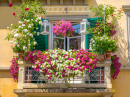 Italian House Balcony
