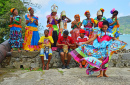 Traditional Dancers in Portobelo, Panama