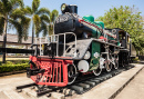 Steam Engine Locomotive in Thailand
