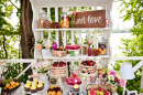 Summer Wedding Sweet Bar