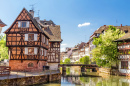 Petite France District in Strasbourg