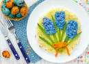 Hyacinth Flower Spring Salad