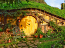 Hobbiton Village, Matamata, New Zealand