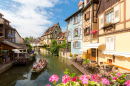Canals of Colmar, France