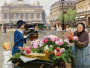 The Flower Seller, Paris