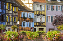 Half-Timbered Houses in Colmar, France