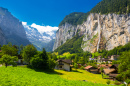 Lauterbrunnen Valley, Swiss Alps