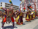 Street Parade in Arica, Chile